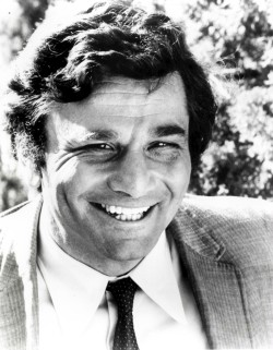 Photo of Peter Falk as Columbo.