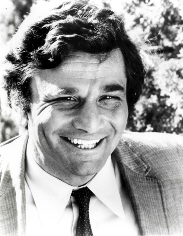 Photo of Peter Falk as Columbo.