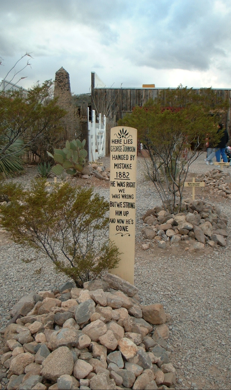 Boot Hill Cemetery, Tombstone - photo by Juliamaud