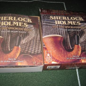 Sherlock Holmes Jigsaw - photo by Juliamaud